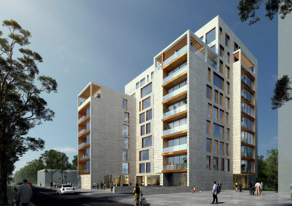 Erevan Building Vidalenc Architectes
