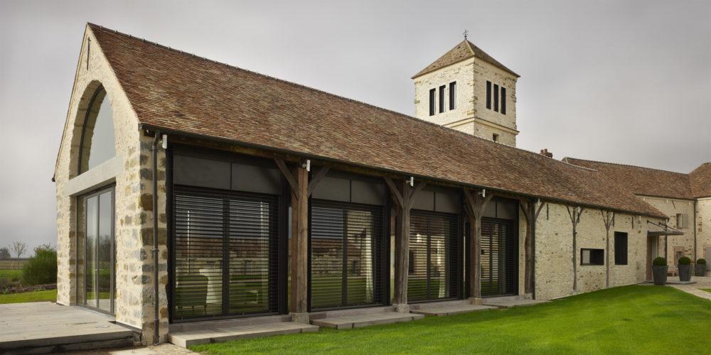 Ferme de Ferrières Vidalenc Architectes