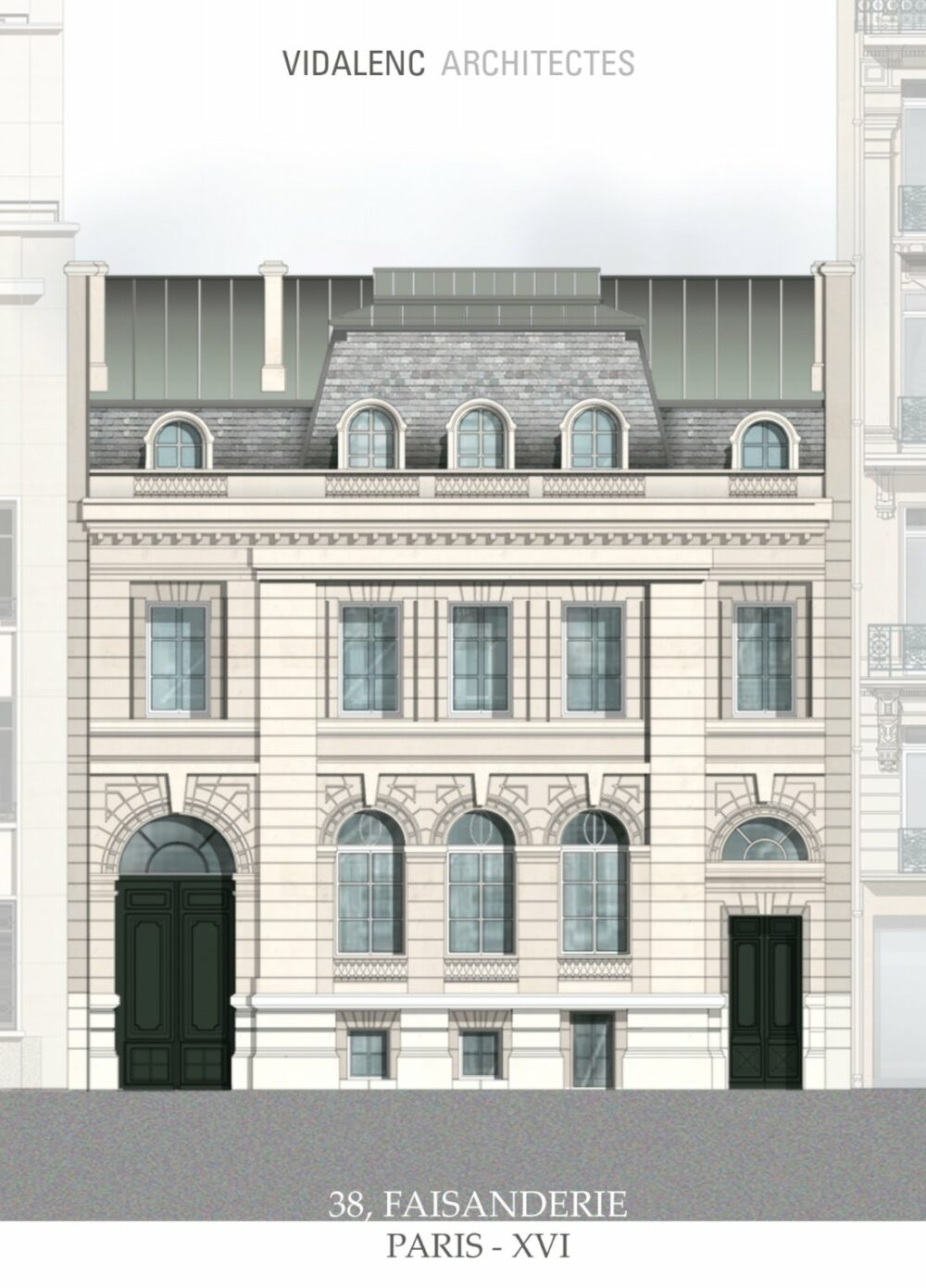 Hôtel de Nanteuil Vidalenc Architectes