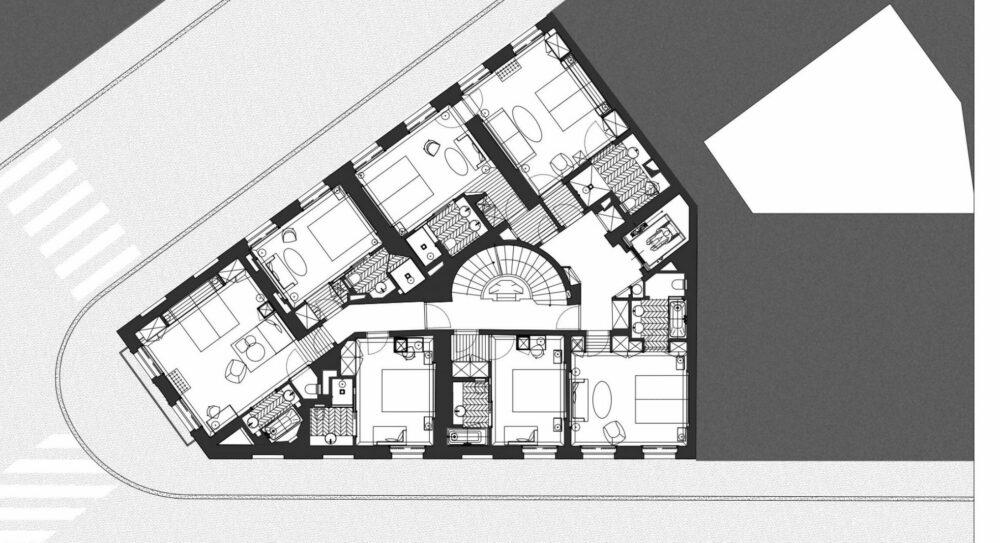 Hôtel Richepanse Vidalenc Architectes