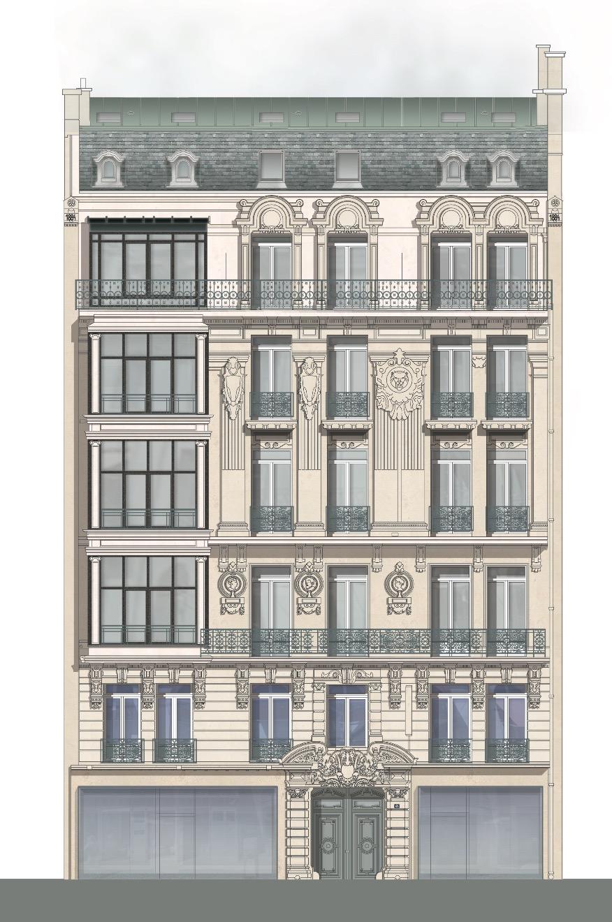 Champs Élysées Vidalenc Architectes